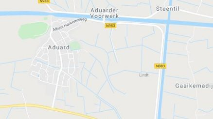 live updates Aduard Google Map