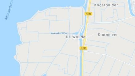 actueel de Woude Google Map