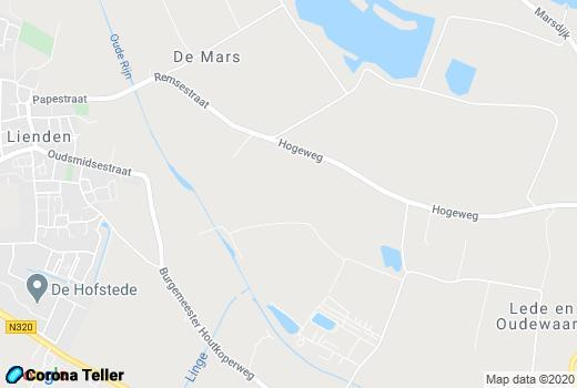 live updates Lienden Maps