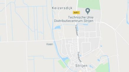 informatie Strijen Map