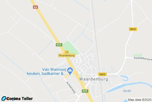 live update Waardenburg Google Maps