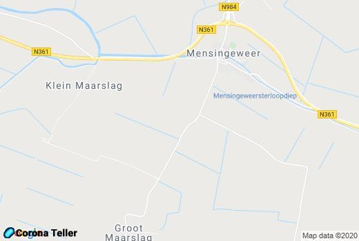 live update Mensingeweer Google Map